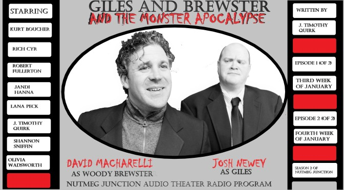 Season 2: Episode 1 Giles and Brewster and the Monster Apocalypse